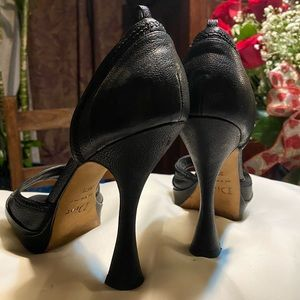Dior open toe shoes